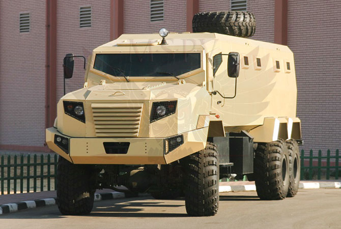 Armoured Personnel Carrier Gabon - panthera-6x6-krazz
