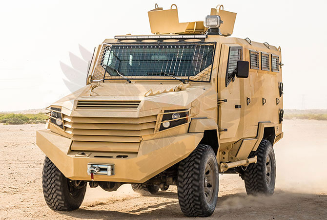 Armoured Personnel Carrier Gabon - panthera-n6