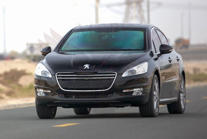 Armoured Cars Gabon - Peugeot 508