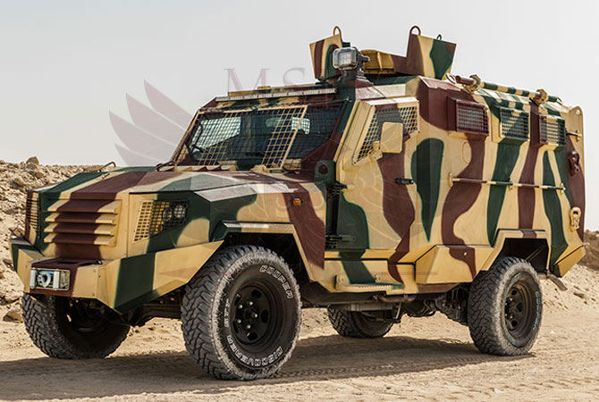 Armoured Personnel Carrier Gabon - panthera-t6-3dr