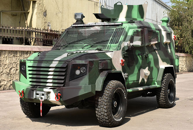 Armoured Personnel Carrier Gabon - Panthera T6F