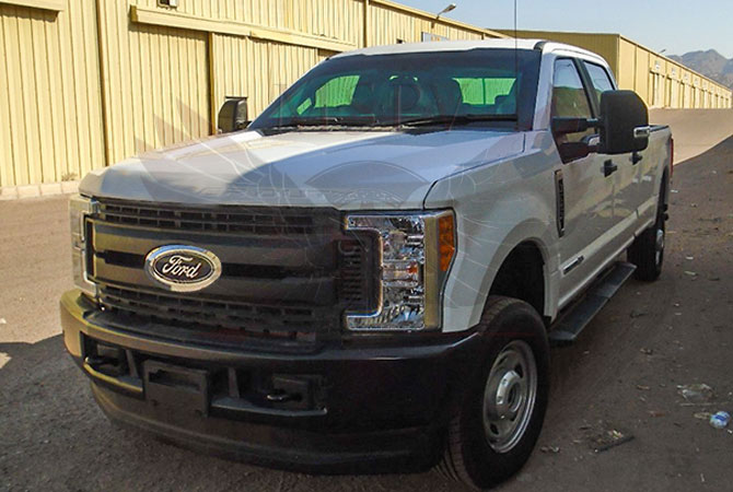 Armoured Pickup Gabon - Ford F350