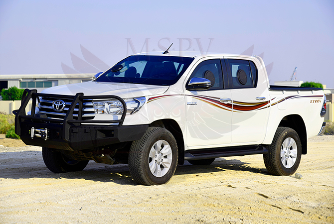 Armoured Pickup Gabon - Toyota Hilux