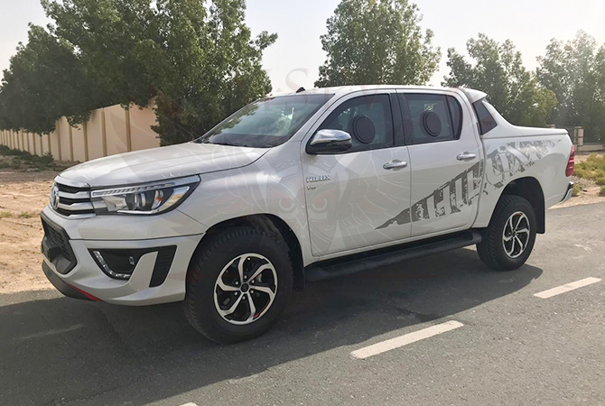 Armoured Pickup Gabon - Toyota Hilux 2019 TRD