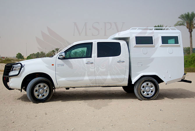 Armoured Troop Carrier Gabon - Toyota Hilux