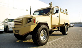 Armoured Miliatry Vehicle Gabon